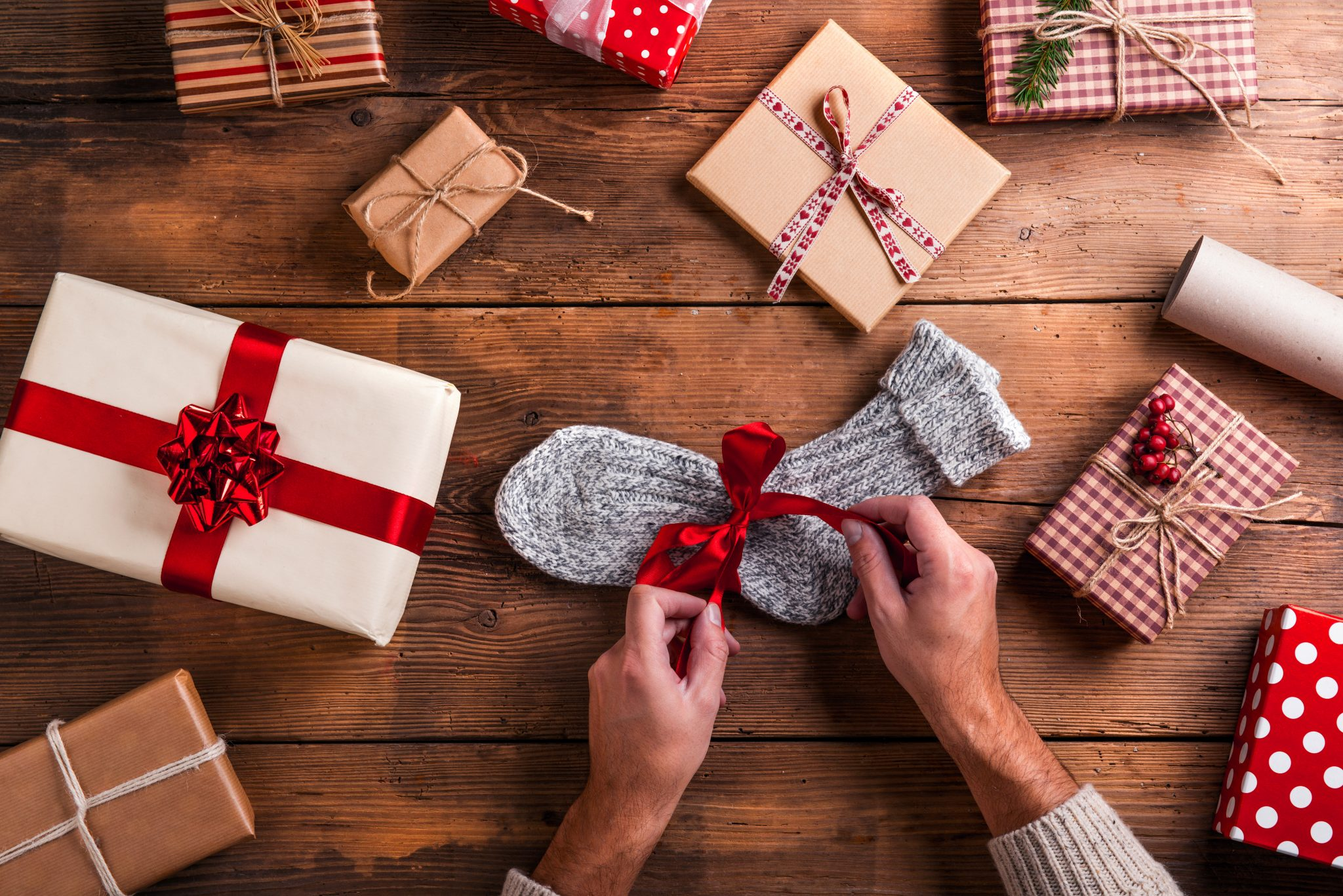 fuzzy sock gift ideas